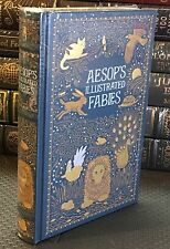 AESOP'S ILLUSTRATED FABLES by AESOP- LEATHERBOUND & BRAND NEW!