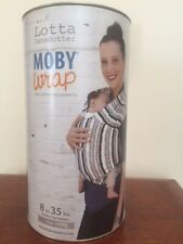 Moby Wrap 100% Cotton Baby Carrier, Lotta Collection REDIG [New&Authentic]