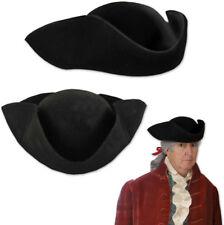 Beistle Black Felt Tricorn Hat Costume Accessory