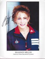 Shannon Miller, Olympic Gymnast, Signed Photo, COA, UACC RD 036
