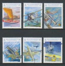 Alderney - 2009, Naval Aviation Centenaire Ensemble - MNH - Sg A369/74