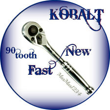 "KOBALT 3/8"" Drive 90-tooth Quick Release Ratchet 337308 - NEW - Fast Shipping"