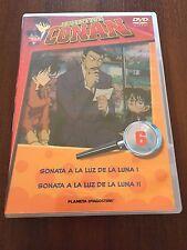 DETECTIVE CONAN DVD 6 - 1 DVD - 2 CAPS - 50 MIN - JONU MEDIA PLANETA DEAGOSTINI