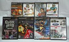 8 Playstation 2 PS2 Game Games Lot SSX Driven What Drives You? Tekken TAG More..