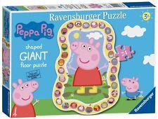NUOVO! Ravensburger PEPPA PIG 24 pezzi a forma di Giant Floor Puzzle età 3+