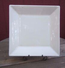 """Williams Sonoma Dinnerware 11"""" Square Dish/Plate Off White Micro/Dish Safe 1 Pc."""