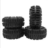 "4PCS 2.2"" ID Rubber Rock Crawler Tires with Foam for RC 1:10 Rock Crawler Car"