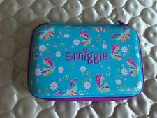 Smiggle Pencil Case Turquoise and Pink