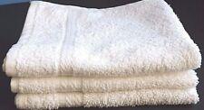 1 Dozen NEW Face Wash Cloth 12x12 100% Cotton White Soft Facial Hotel Home Spa