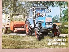 Original Eicher Prospekt Traktor 4048 (A)