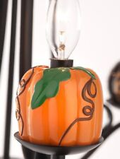 Fall Harvest Pumpkin Chandelier/Sconce Charm - Halloween, Fall, Thanksgiving Dec