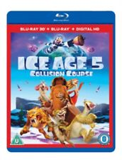 Ice Age 5 Collision Course 2016 3d BR Blu-ray