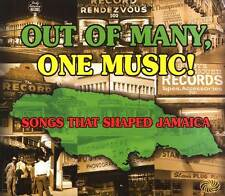Jazz Blues Folk Out Of Many One Music Songs That Shaped Jamaica 3 CD Gospel