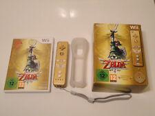 The Legend of Zelda - Skyward Sword + Wiimote dorée - Edition limitée sur Wii.