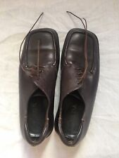 Brown Lether Prada Shoes