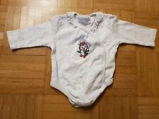 Wickelbody Langarm Gr. 56 Baby Mädchen
