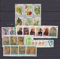 S18161) Vatican MNH 1992 Complete Year Set 26v + S/S (2 Scans)