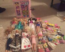 Vintage Mattel Barbie Doll / Clothes Figure Lot