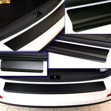 VW Golf 7  VII SparSet Ladekantenschutz Einstiegsleisten Schwarz Matt 10172-2013