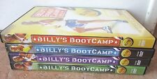 Tae Bo Billy's Bootcamp Billy Blanks - 4 Workout Exercise Fitness DVDs