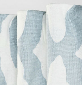 1 Project 62 Summer Fret 84 Inch Curtain Panel in Blue Nwop Light Filtering