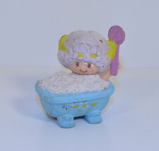 "Vintage Angel Cake In Bath Tub 2"" PVC Plastic Action Figure Strawberry Shortcake"