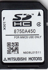 MITSUBISHI MMCS SD CARD NAVIGATION SAT NAV LATEST MAP 2016 EUROPE 8750A450