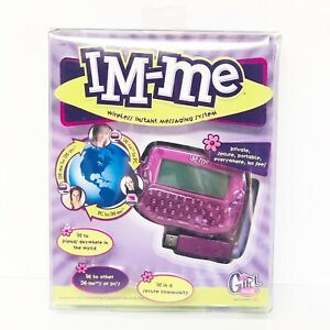IM-ME Wireless Instant Messaging System Girl Tech Damaged Open Box Radica