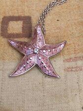 Nicole Barr Silver Designer Starfish Necklace
