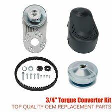 "New listing Go Kart Torque Converter Clutch Kit 3/4"" 10T #40 #41 &12T #35 For Predator 212Cc"