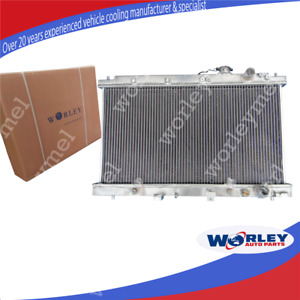 QLD For Honda Integra Acura Radiator 1994-2001 DC2 B18 GSR RS LS Aluminum AT/MT