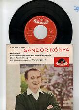 "Sandor Konya  -  Wolgalied  7 "" Single  Polydor"