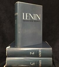 Very Rare Lenin Selected Works Volume 1-3 1970 Progress Publishers