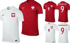 Lewandowski 9 NAME Nickname NIKE POLAND Jersey mens T-shirt Polish Nike POLSKA
