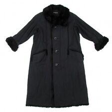 ISSEY MIYAKE MEN Cotton Batting Fur Long Coat Size 2(K-39656)