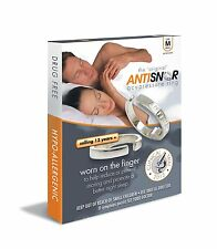 Anti Snor Therapeutic Acupressure Stop Snoring Snore Ring Sleep Aid ATQOL