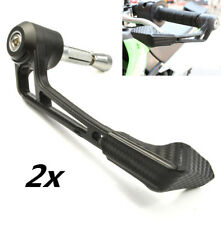 Motorcycle Bar Mount Brake Clutch Lever Protection Guard Carbon Look Universal