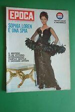 EPOCA 775/1965 SOFIA LOREN ROMY SCHNEIDER JIM CLARK PETER SELLERS BRITT EKLUND