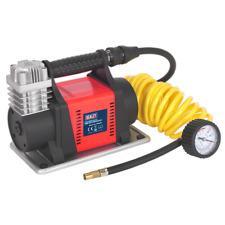 MAC05 Sealey Mini Air Compressor 12V Heavy-Duty [Tyre Inflators]
