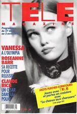 Télé Magazine Vanessa  Paradis 1951/1993