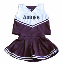 Texas A&M Aggies Handmade Basketball/Football Youth Cheerleading Outfit sz 10