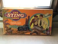 The STING board Game 1976 Vintage RARE GREEN PARTS SEALED NEW OLD STOCK LOT