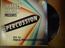 33 RPM Vinyl Warren Benson Ithaca Percussion Ensemble Golden Crest  041015SM