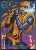 2016 Marvel Masterpieces Gold Signature Trading Card #5 Magik /1999
