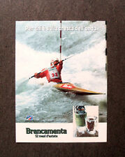 [GCG]  M647 - Advertising Pubblicità -1984- BRANCAMENTA , 12 MESI D'ESTATE