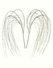 "2 x Weeping Willow Sprays - 45"" (1.15m) - Artificial Imitation Plant Branches"