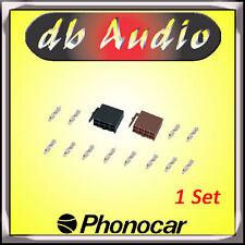 Phonocar 4/326 Spinotto Autoradio ISO Femmina per Alimentazione Altoparlanti