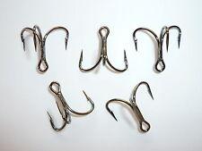 25 Mustad KVD Triple-Grip Short-Shank 1X Treble Hooks (Size 6) TG76-BN Classic