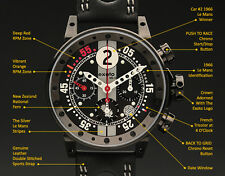 BRM V12 by Exoto | GT40 Mk II Racing Chronograph | Swiss ETA Valjoux Movement