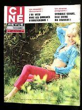 Ciné Télé Revue 27/08/1970; Susan Denberg/ Liz Taylor/ Joe Dassin/ Darrieux